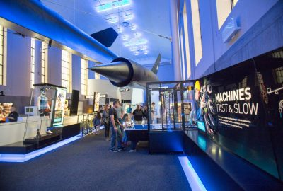 Now Open – Speed Exhibit at Science Museum of Virginia