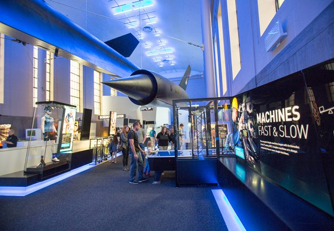 Science Museum of Virginia Speed Exhibit, Richmond, VA | Susan Kalergis Photography