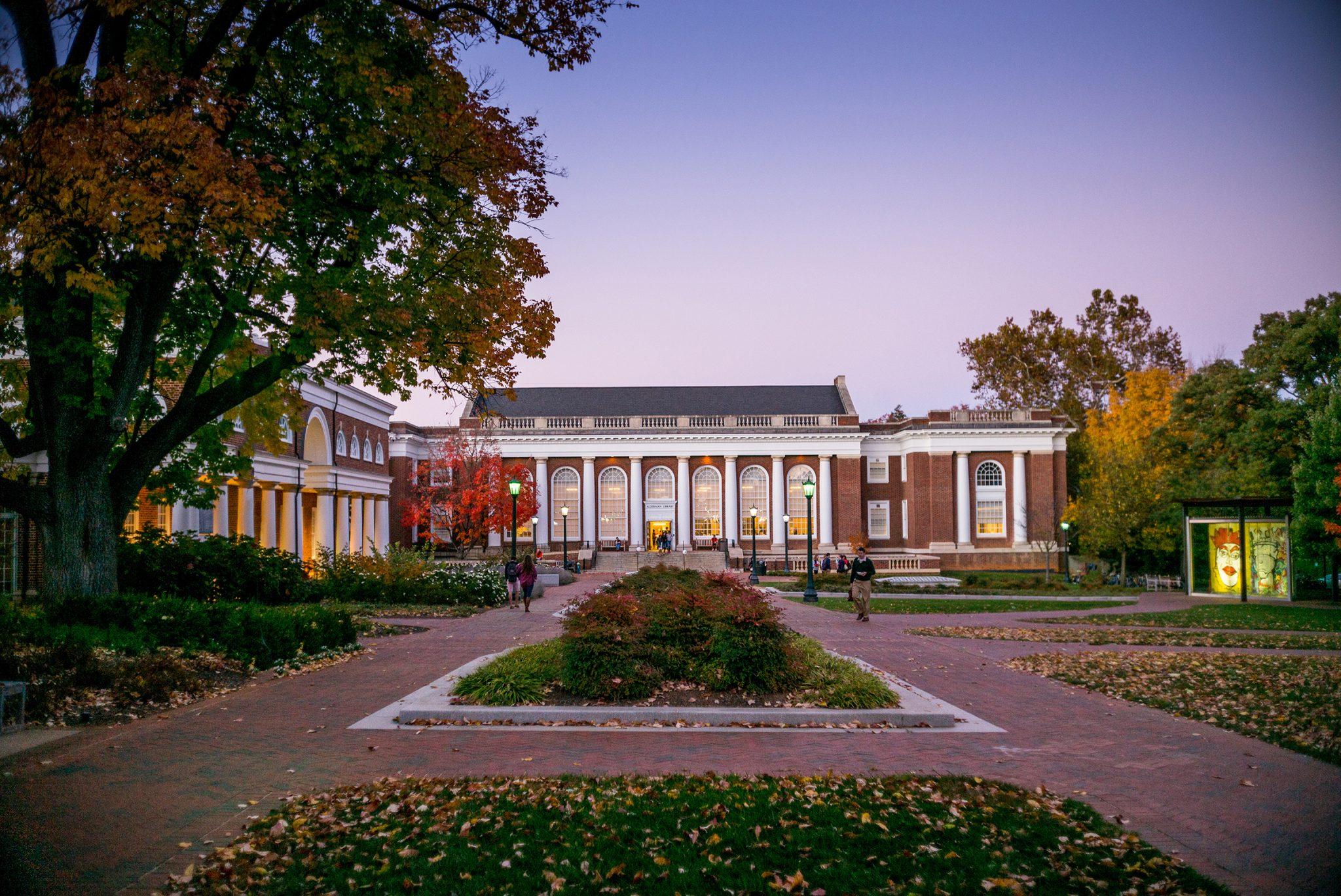 UVA's Alderman Library Renovation is Underway!