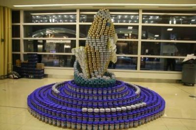 MTFA Canstruction team raises $8K!