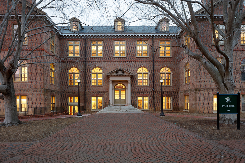 William & Mary Tyler Hall Renovation