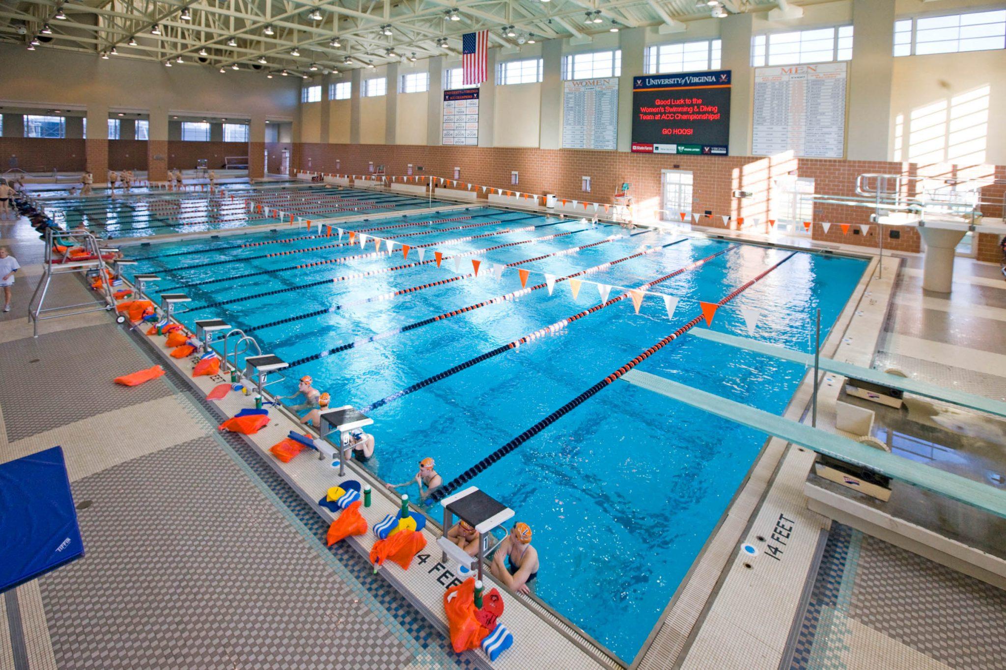 UVA Aquatic and Fitness Center Natatorium