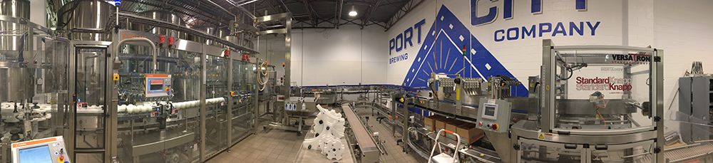 New Bottling Line - Alexandria Port City Brewing