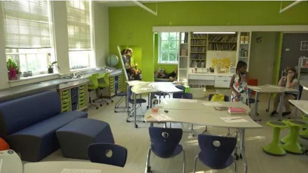 Clark Elementary School Renovation Well-Received