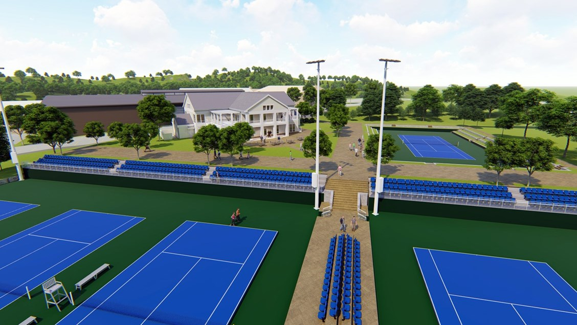 UVa Varsity Tennis Pavilion Design is Underway