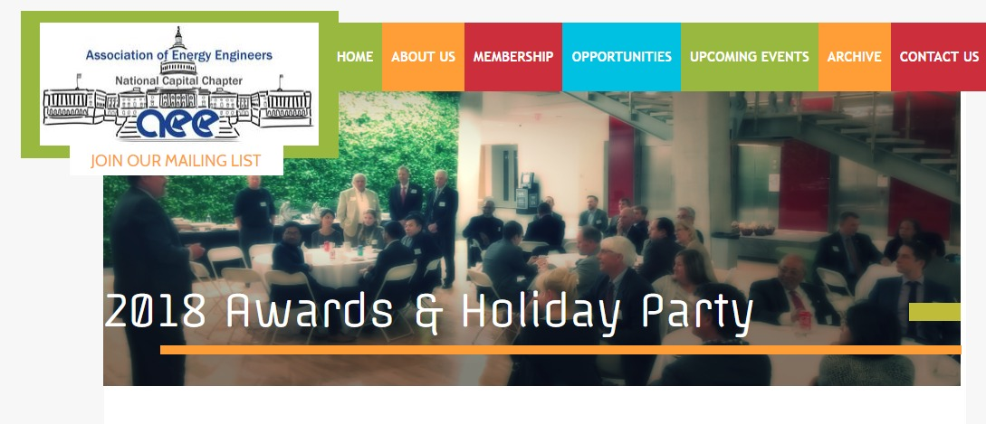 Dec 12 | AEE National Chapter Awards & Holiday Party