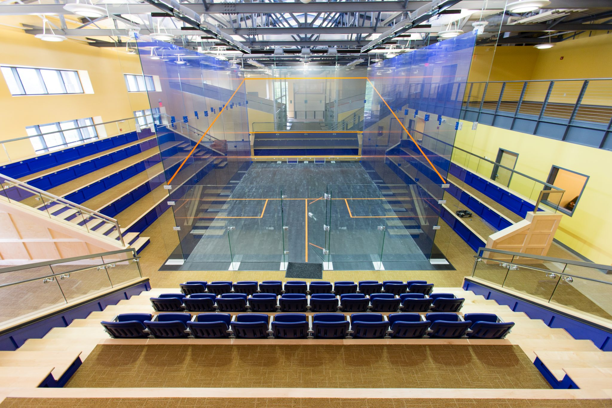 UVA McArthur Squash Center Awarded LEED Certified Status