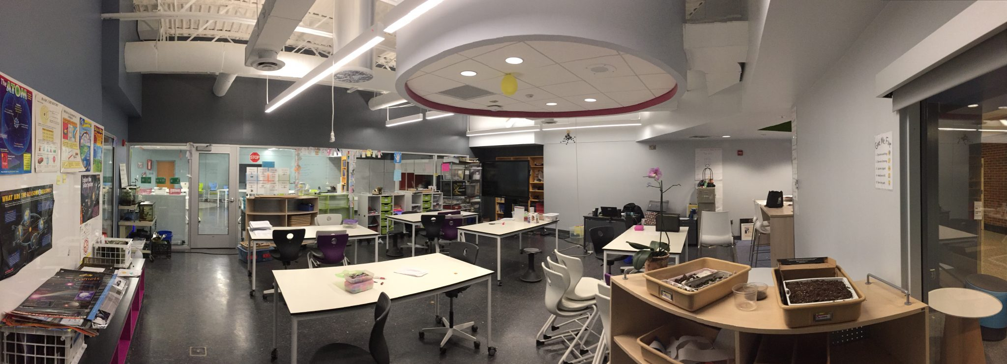 Albemarle County Public Schools Jouett and Walton Middle School Learning Laboratory Modernizations