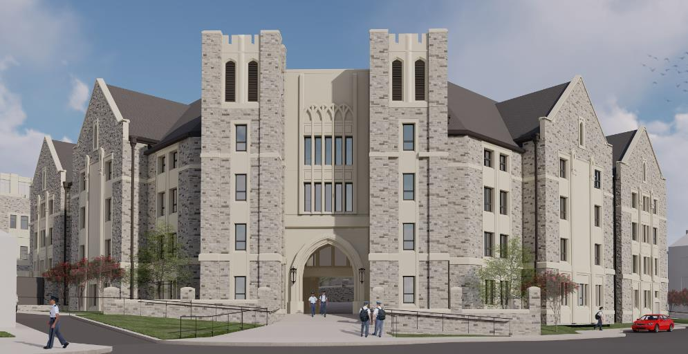 VT's New Upper Quad Residence Hall Is Underway