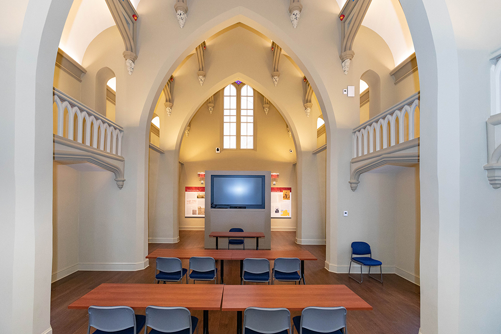 Virginia Theological Seminary Renovation Showcases Antiquities, Adds Modern Amenities