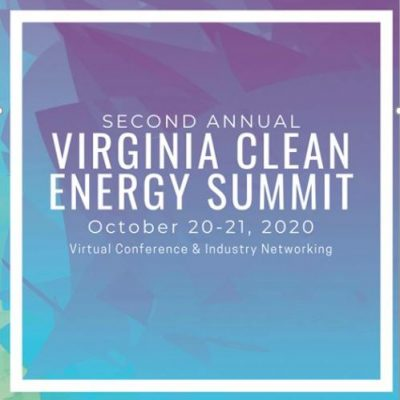 Join 2RW at this year's Virtual Virginia Clean Energy Summit!   Oct 20 & 21