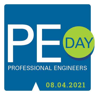 Happy Sixth Annual National Professional Engineer Day - Let's celebrate 800,000+ PEs!